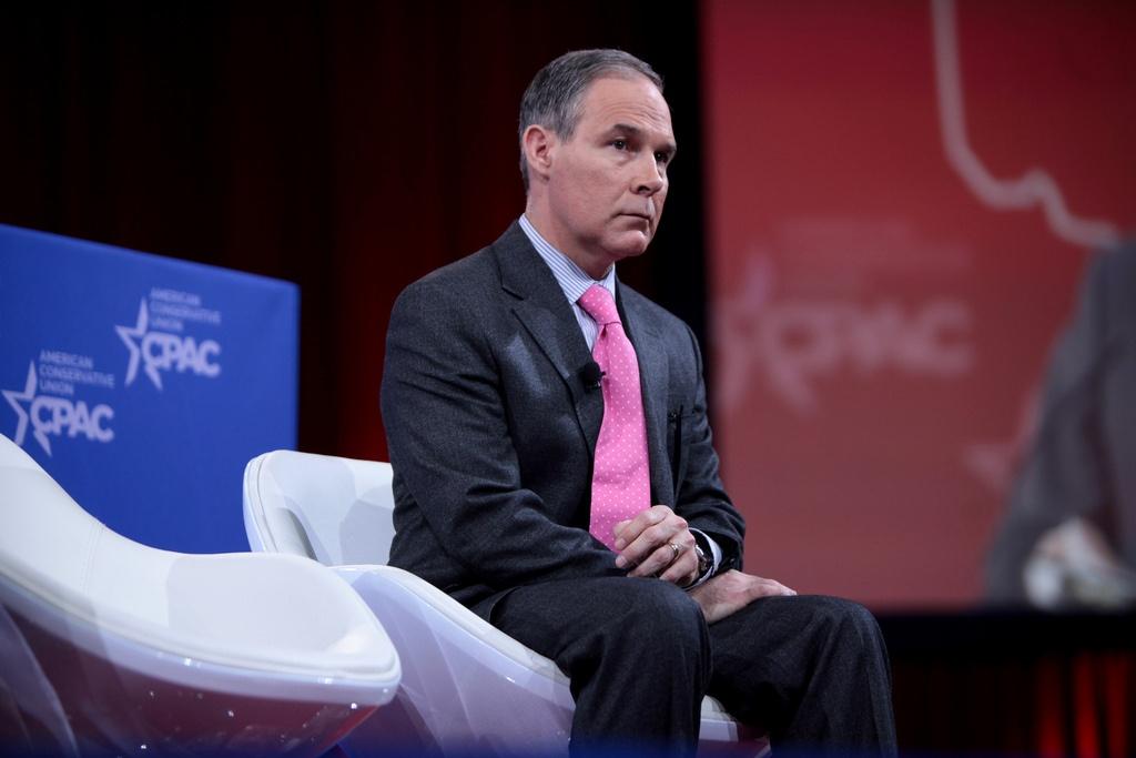 Scott Pruitt Takes Helm of EPA
