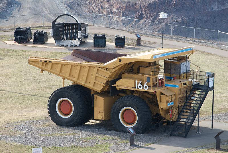 Rio Tinto Implements Gigantic Robot Mining Trucks