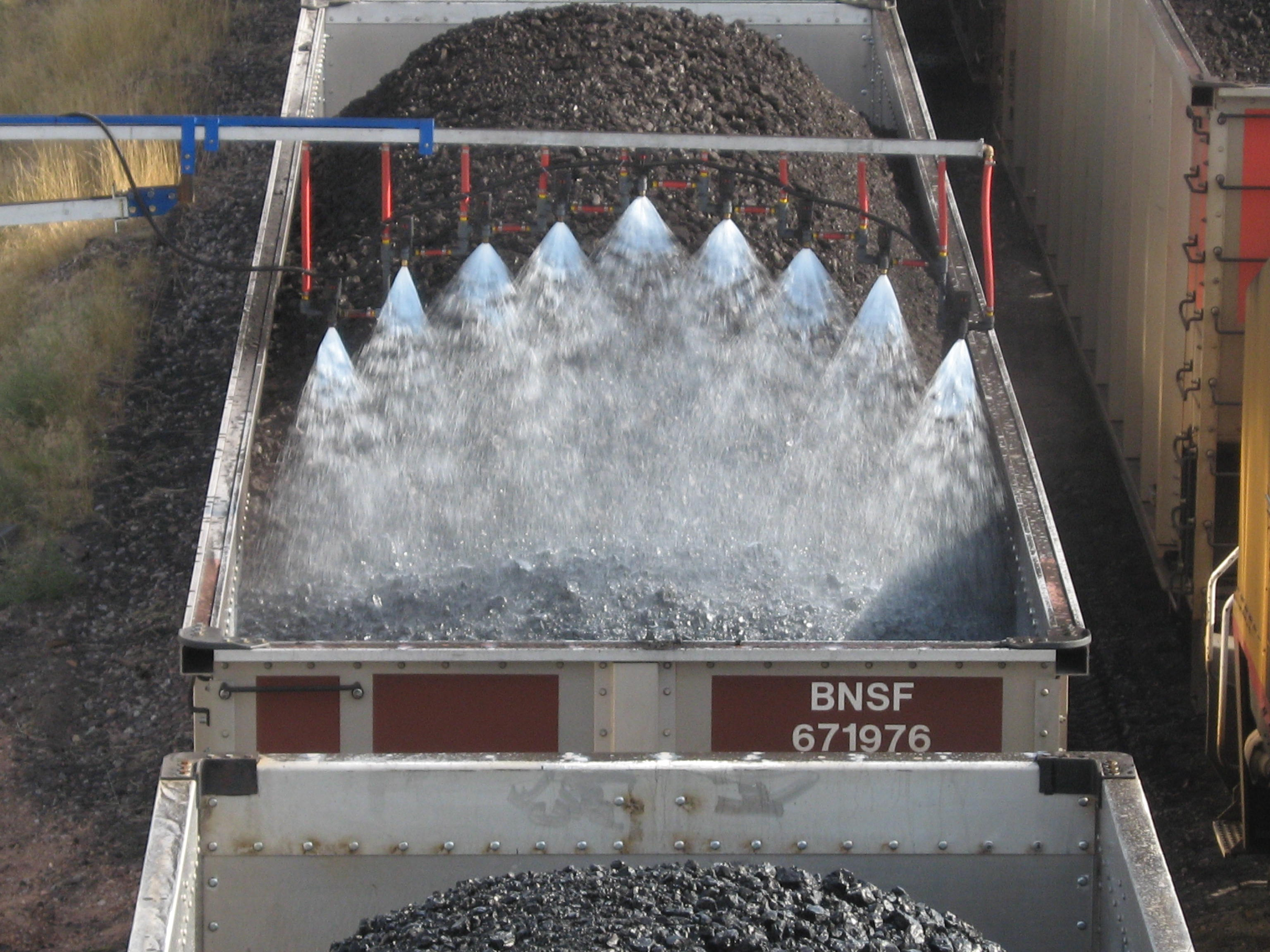 Why Major Railroads Trust Midwest's Coal Car-Topping Solutions