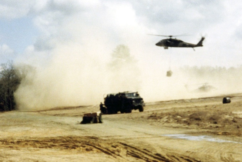 Safety, Visibility and Efficiency Through Military Helipad Dust Suppression