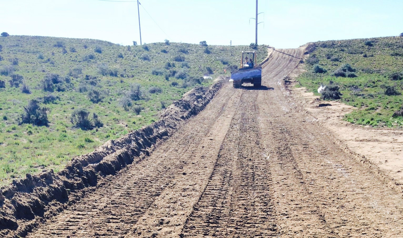 Power Company Builds Sustainable Road through Protected Dunes with GreenPave