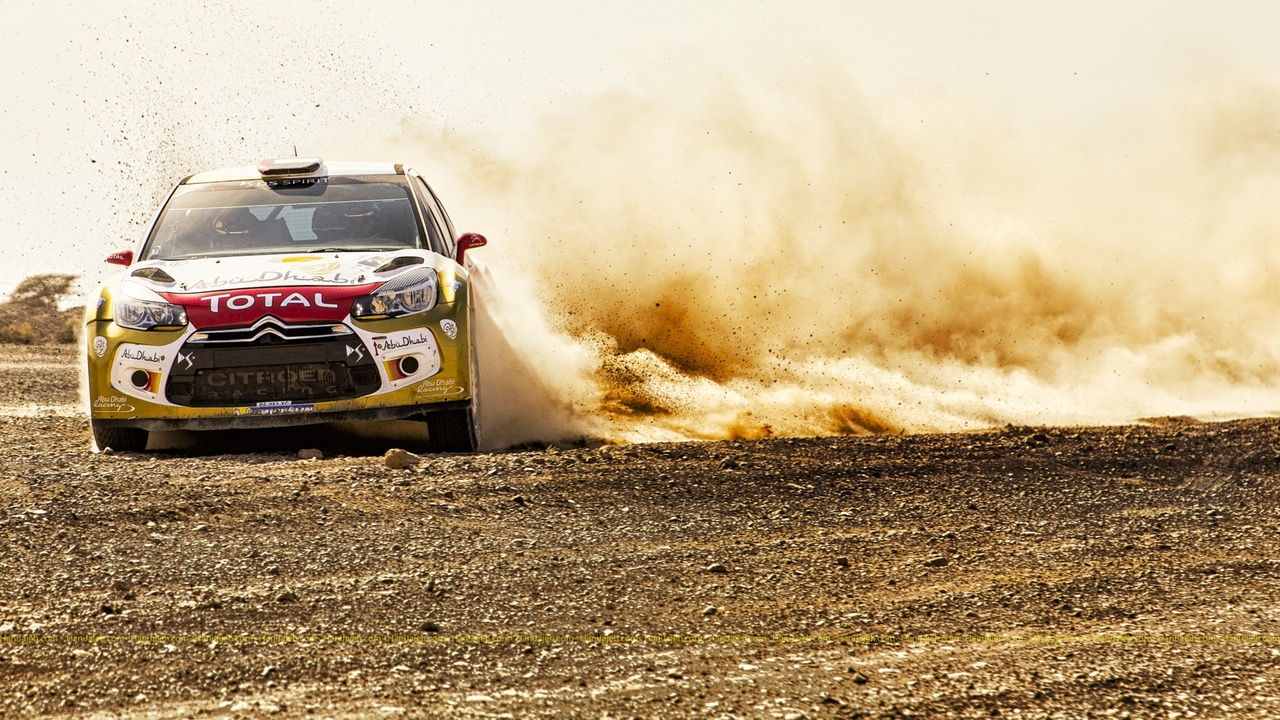 Toyota Yaris Racer Designed to Speed Down Gravel Roads