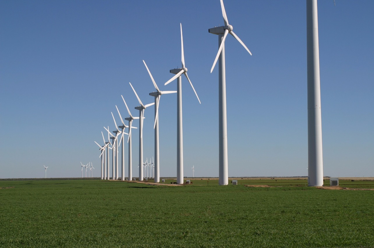 Wind Farms Need Dust Control For Safe and Efficient Operations