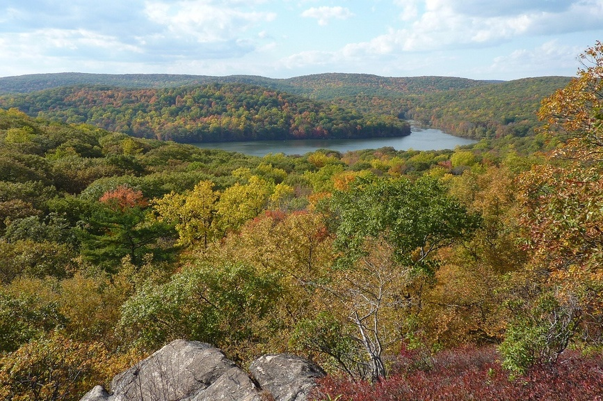 Midwest's Road Oyl® Helps Harriman State Park Eliminate Dust and Stabilize Pathway