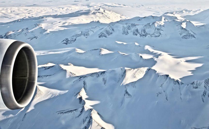 historic antarctic flight gravel runway