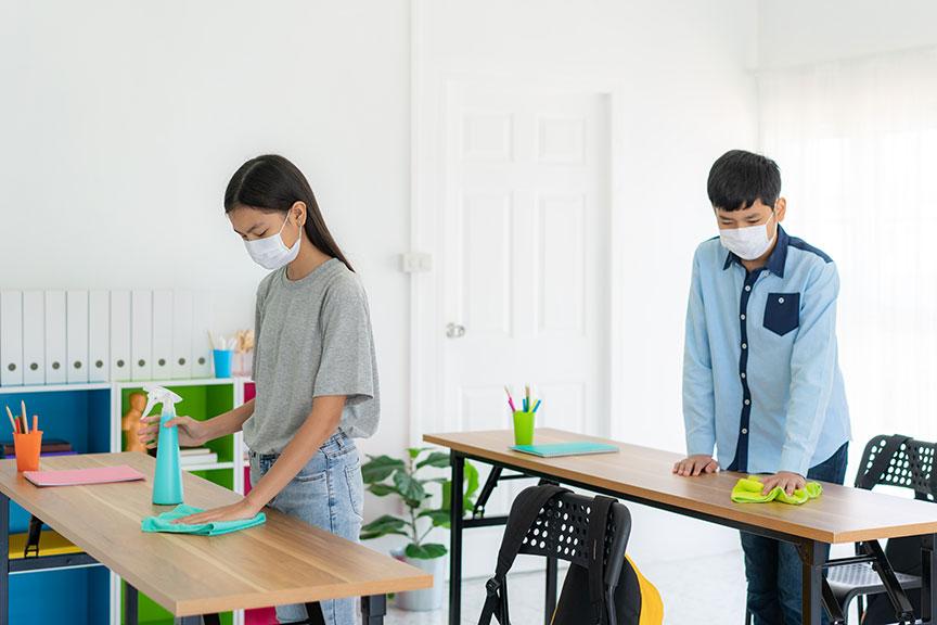 School Disinfecting Guidelines