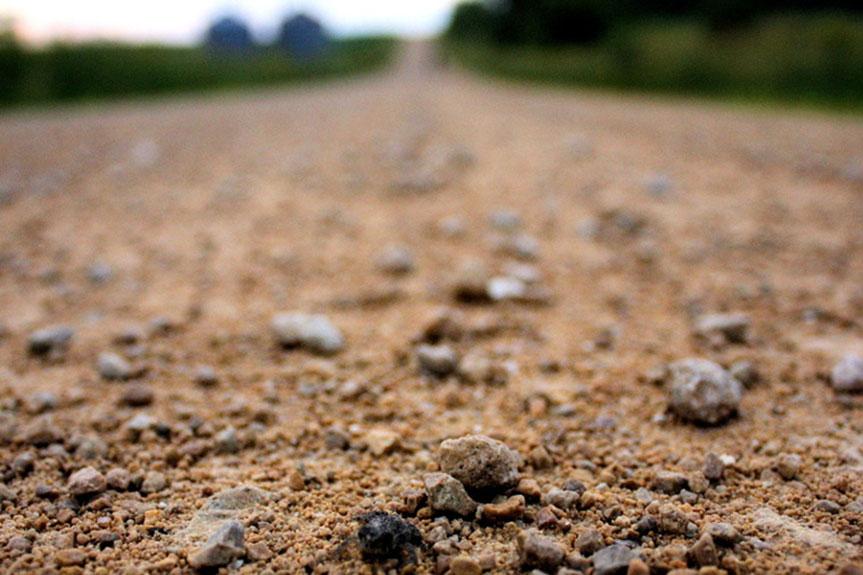 Gravel Road Dust