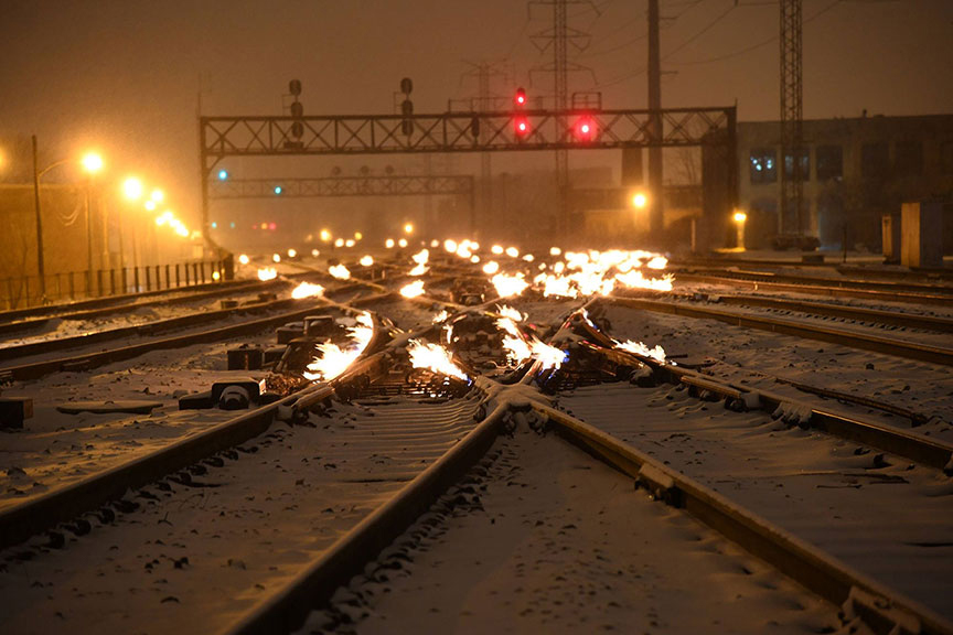 Third Rail Deicing and Anti-icing